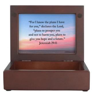 JOYFUL JEREMIAH 29:11 SUNRISE KEEPSAKE BOX