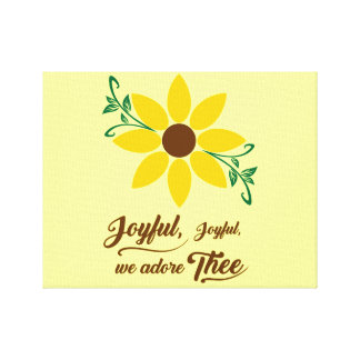 Joyful Joyful Canvas Print