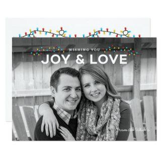Joyful Lights Holiday Card