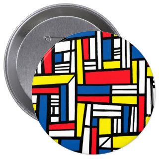 Joyful Manly Sleek Charming 10 Cm Round Badge