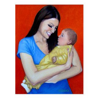 Joyful Mother Postcard