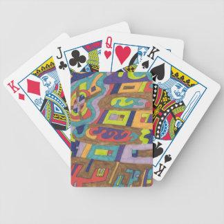 Joyful Noise, abstract Card Decks