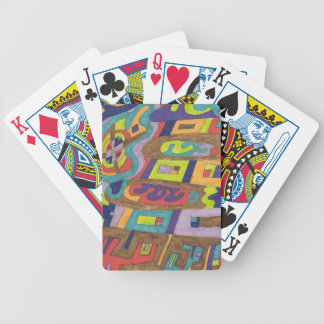 Joyful Noise abstract Poker Cards