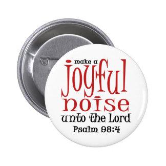 Joyful Noise 6 Cm Round Badge