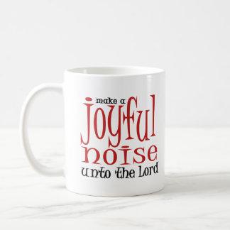 Joyful Noise Classic White Coffee Mug