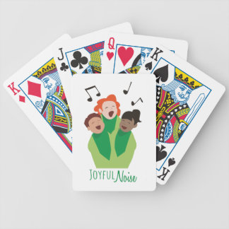 Joyful Noise Poker Cards