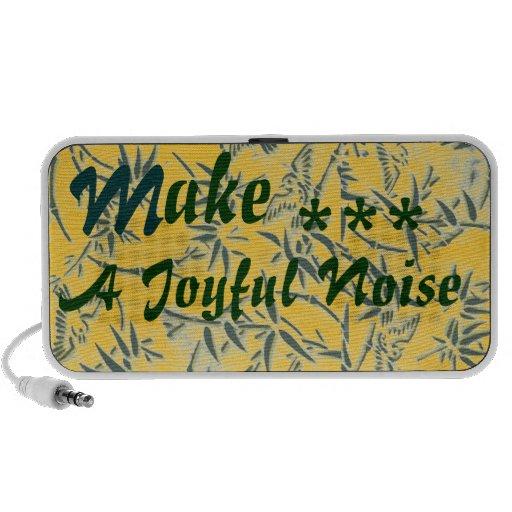 """Joyful Noise"" Laptop Speaker"