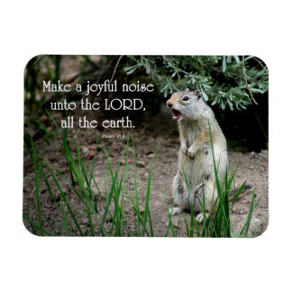 Joyful Noise Squirrel Magnet