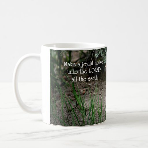 Joyful Noise Squirrel Mug
