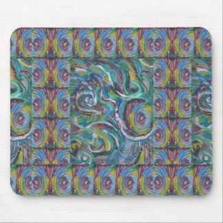 JOYFUL RIDE: Artistic Energy Waves LOWPRICE STORE Mousepads