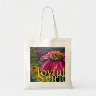 Joyful Spirit Coneflower book bag