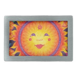 Joyful Sun Full Size Belt Buckle