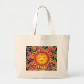 Joyful Sun Full Size Large Tote Bag