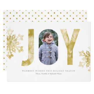Joyful Watercolor Card