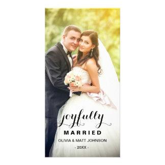 Joyfully Married | Holiday Photo Card