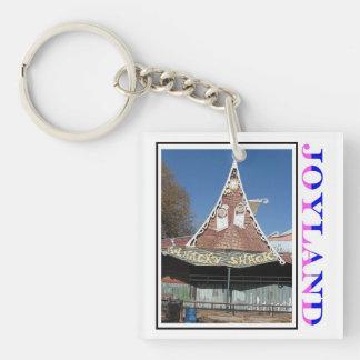 Joyland Whacky Shack Front Single-Sided Square Acrylic Key Ring