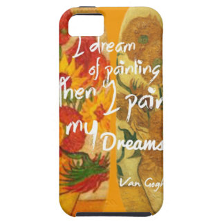 Joyous and sad  sunflowers case for the iPhone 5