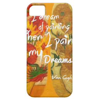 Joyous and sad  sunflowers iPhone 5 cover