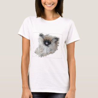 Joyous Flying Pekingese T-Shirt