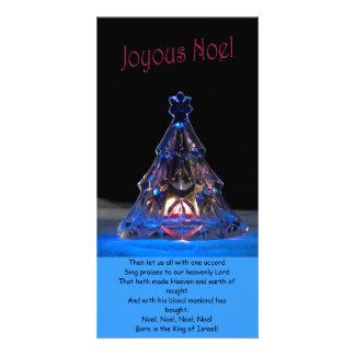 Joyous Noel Personalised Photo Card