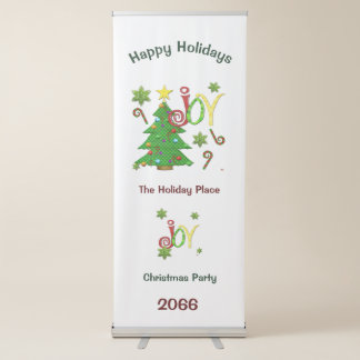 Joyous Occasions Whimsey Retractable Banner