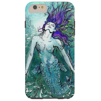 Joyous Splash Mermaid Tough iPhone 6 Plus Case
