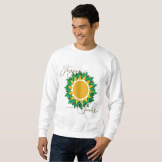 Joyous Sun Wreath Men's Sweatshirt