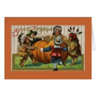 Joyous Thanksgiving Card