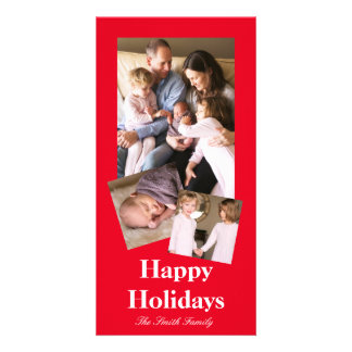 Joyously Jolly Red Color Card