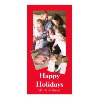 Joyously Jolly Red Colour Card