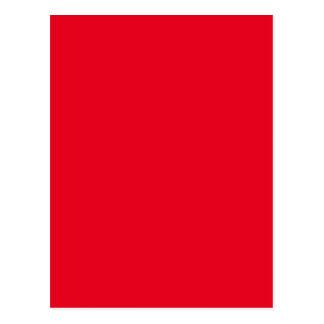 Joyously Jolly Red Colour Postcard
