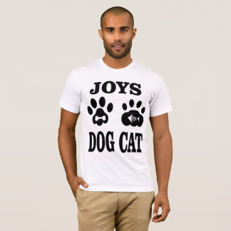 Joys Dog and Cat T-Shirt
