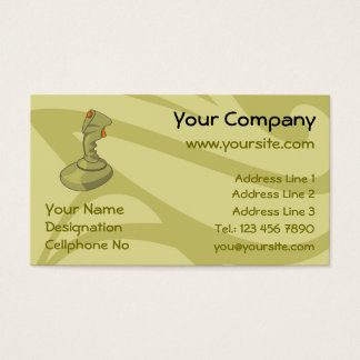 Joystick Business Card