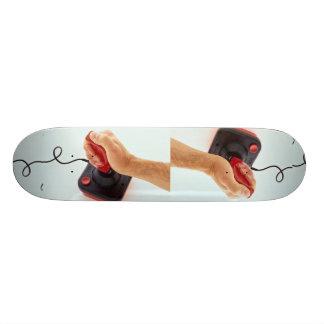 Joystick in use Photo 21.6 Cm Skateboard Deck