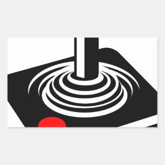 Joystick Rectangular Sticker