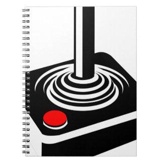 Joystick Spiral Notebook