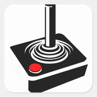 Joystick Square Sticker