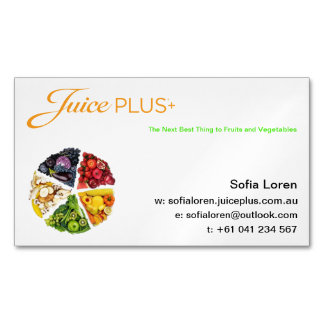 JP+ Magnet Veggie Pie Orange Logo (Customize)