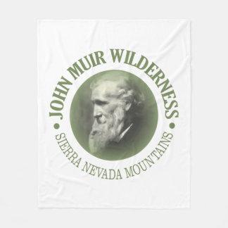 Jphn Muir Wilderness Fleece Blanket
