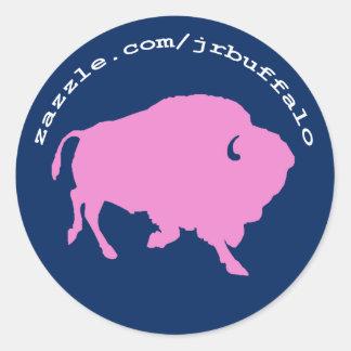 JR Buffalo shop site address on stickers