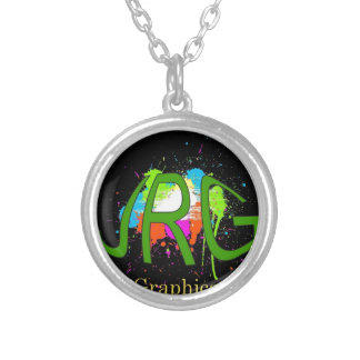 JRGraphicarts Silver Plated Necklace