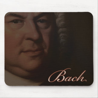 JS Bach mousepad