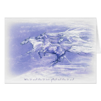 "JT21 judetoo greetings card ""When the Wind Blew"""