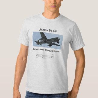 Ju-287 Jet bomber T-shirts