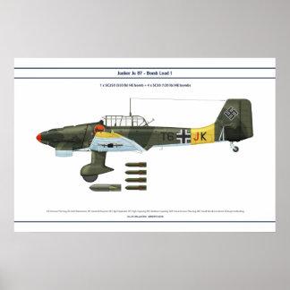 Ju 87 Load 1 Poster