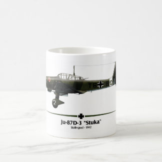 "Ju-87 ""Stuka"" - Luftwaffe - Battle of Stalingrado Coffee Mug"
