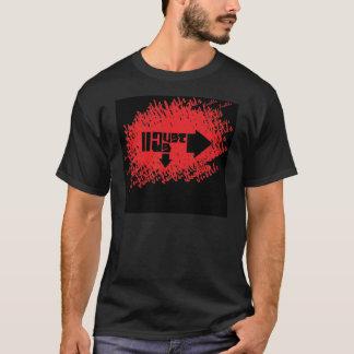 JU Cursive Black T-Shirt