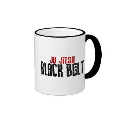 Ju Jitsu Black Belt Coffee Mug