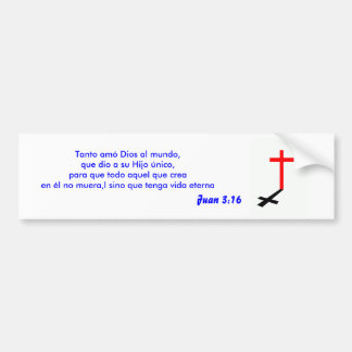 juan 3:16 Sticker