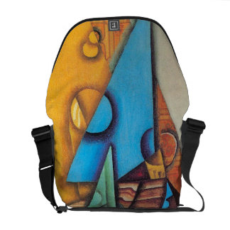 Juan Gris - Bottle and Glass on a Table Courier Bags